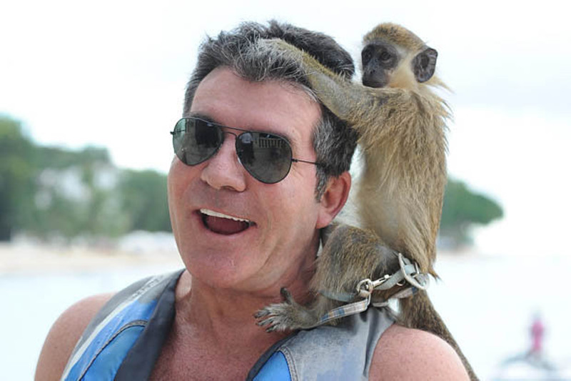 Simon Cowell Holiday Barbados