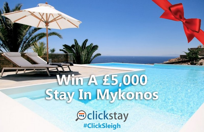 Win a week in this luxury villa in Mykonos ClickSleigh