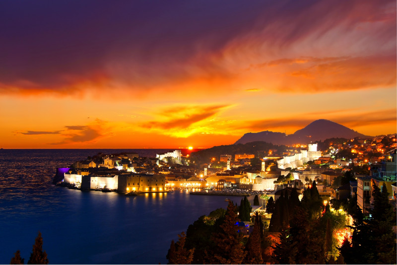 Sunset Dubrovnik