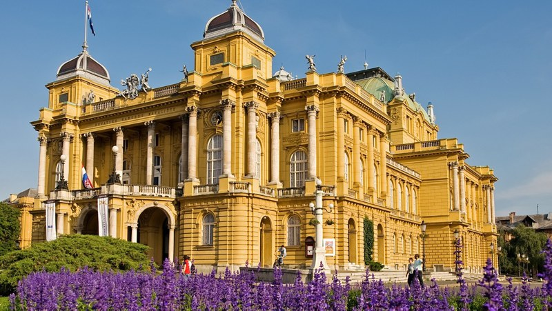 National Theatre, Zagreb, Croatia