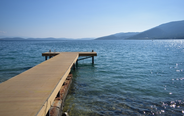 jetty in Torba, Turkey