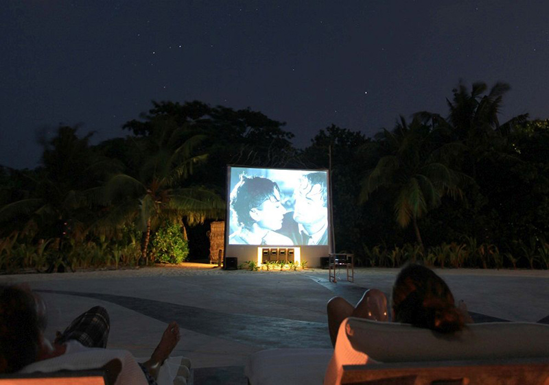 open-air cinema in barbados