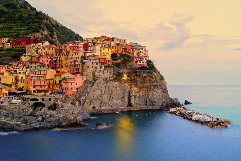 Cinque Terre in Italy.