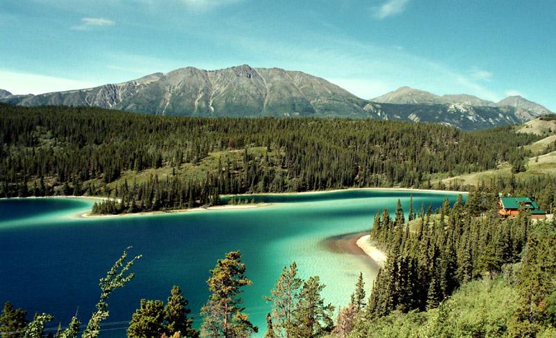 Emerald Lake, Yukon - lakes in the USA