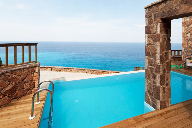 Villa with private pool in Lefkas, Greece