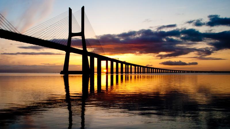 Longest Bridge in Portugar