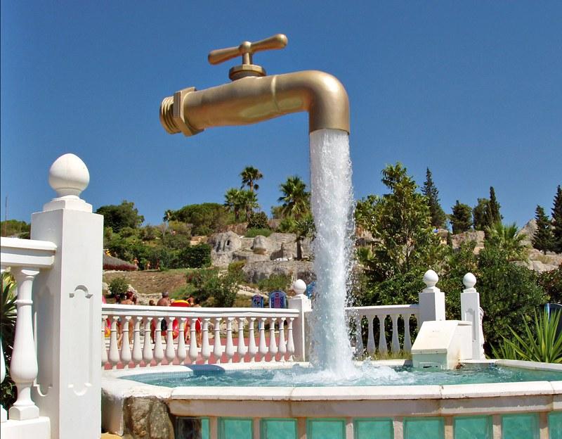 Tap Fountain Spain