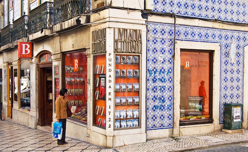 Oldest bookstore in Portugal