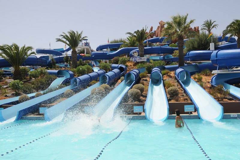 Waterpark in the Algarve