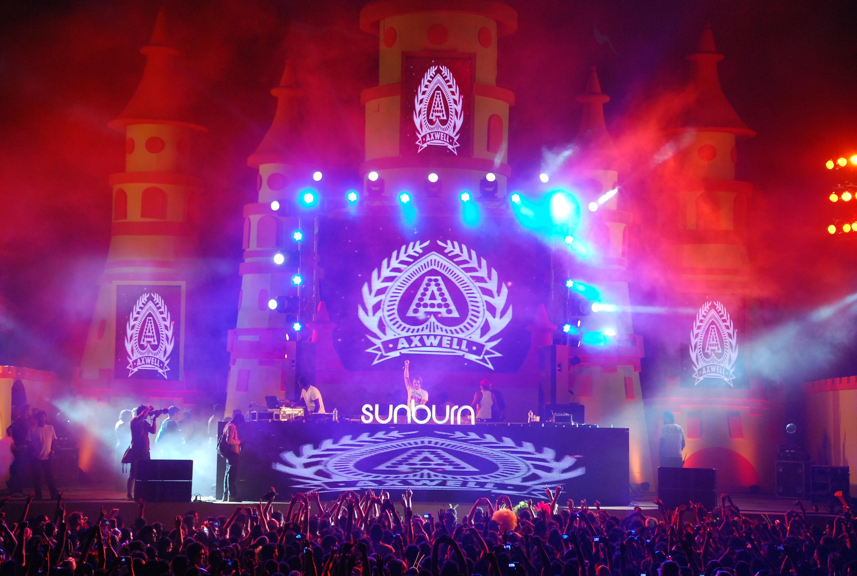 Goa Sunburn Festival