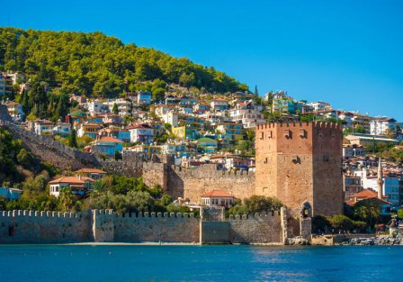 Villas and apartments in Antalya - Mediterranean Coast