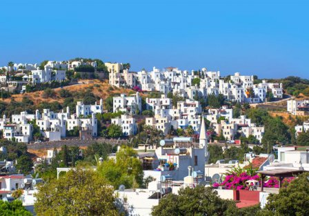 Villas and apartments on the Bodrum Peninsula