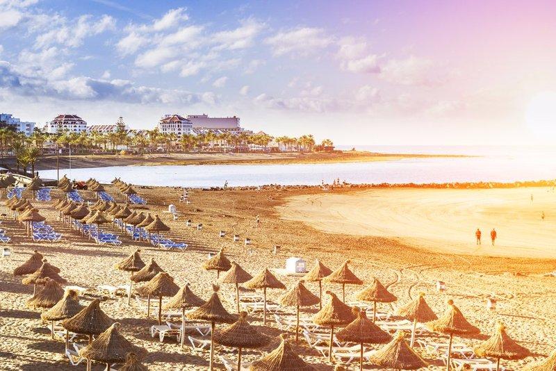 Playa de las Americas in Tenerife - in January!