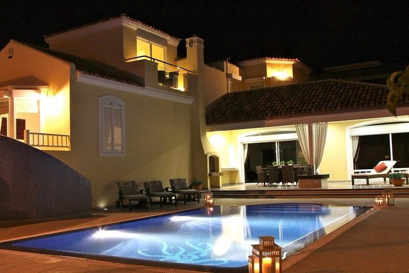 New 4 bedroom villa in Costa Adeje with heated private pool.