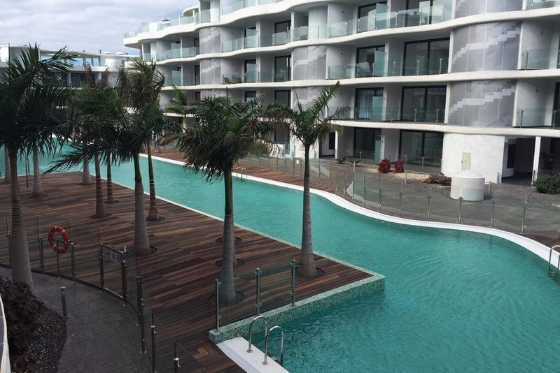 2 bedroom penthouse apartment in Palm Mar, South Tenerife.