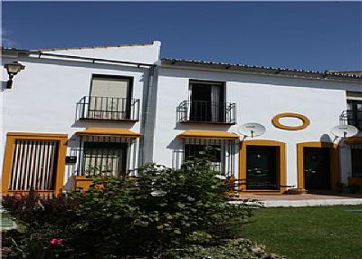 Village house in Spain, Ronda Mountains: Front of House