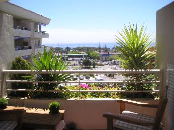 Apartment in Spain, Marbella: Views to the sea from the terrace