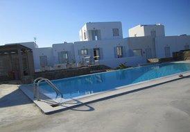 Stunning new five star service Mykonian family villa