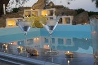 Farm_house in Italy, Matera: A cold drink by the pool, overlooking the olive groves....