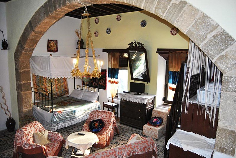 "Owners abroad Traditional village house ""Despoina"" .Koskinou-Rhodes"