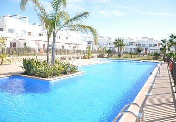 Apartment in Spain, Condado de Alhama (Polaris Golf Resort): One Of Many lovely Swimming Pools To ..