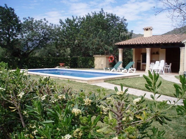 Villa in Spain, Pollensa: Finca Magdalena Garden and pool