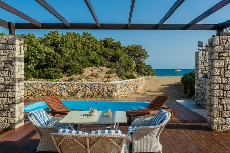 Owners abroad Greece- Rhodes Villa, Directly On The Beach,Tranquil,Clear Waters