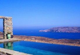 Amazing views private luxurious 4 bedroom villa in Mykonos