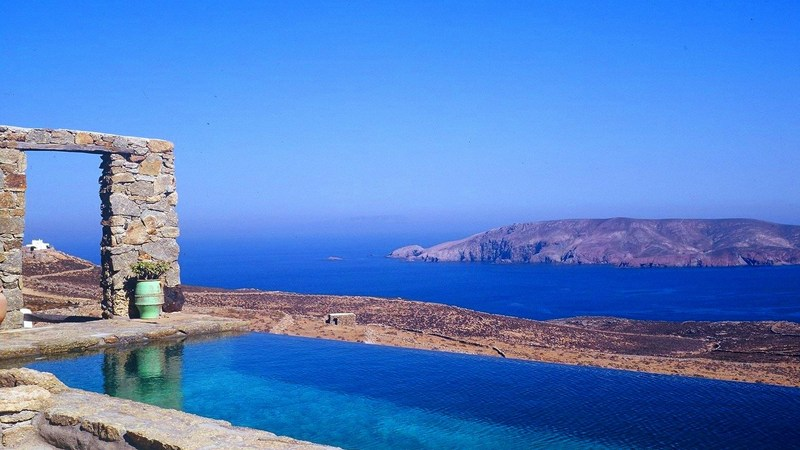 Villa in Greece, Mykonos: infinity pool
