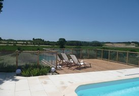 La Croisade - cottage with HEATED pool close to Canal du Midi