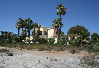 Villa in Spain, San Juan de los Terreros: View of the Casa Templar from the North Side Beach