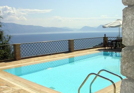 Villa in Nikiana, Lefkas: Spectacular seaviews all over