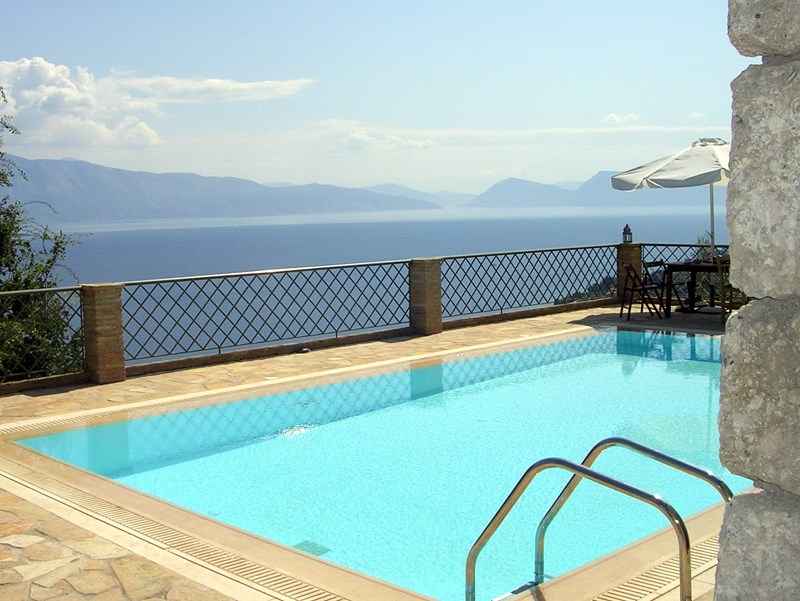 Villa in Greece, Nikiana: Spectacular seaviews all over
