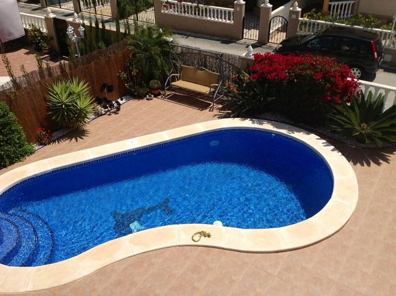 Villa in Spain, Urb el Raso: Private pool and patio area
