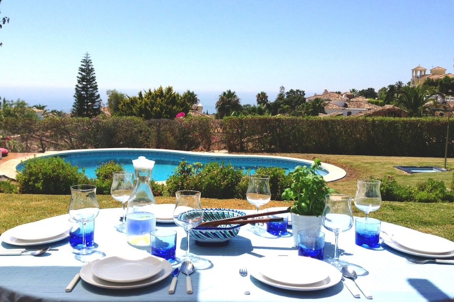 Owners abroad Villa Eva with Pool, Views, Gardens