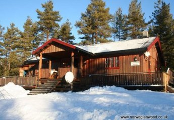 Cabin in Norway, Amli: Winter views