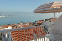 Apartment in Croatia, Ciovo: balcony with great sea view