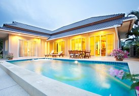 Fully equipped 3 bedroom villa with private pool