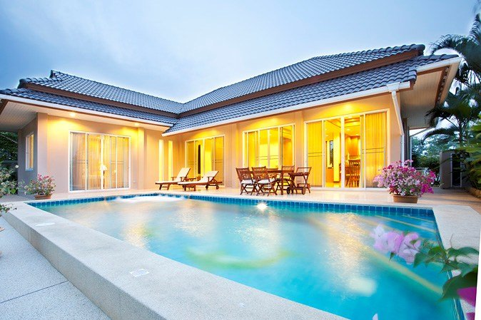Villa in Thailand, Hua Hin: Villa with private pool