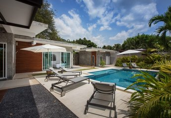 Villa in Thailand, Ao Nang: Swimming pool
