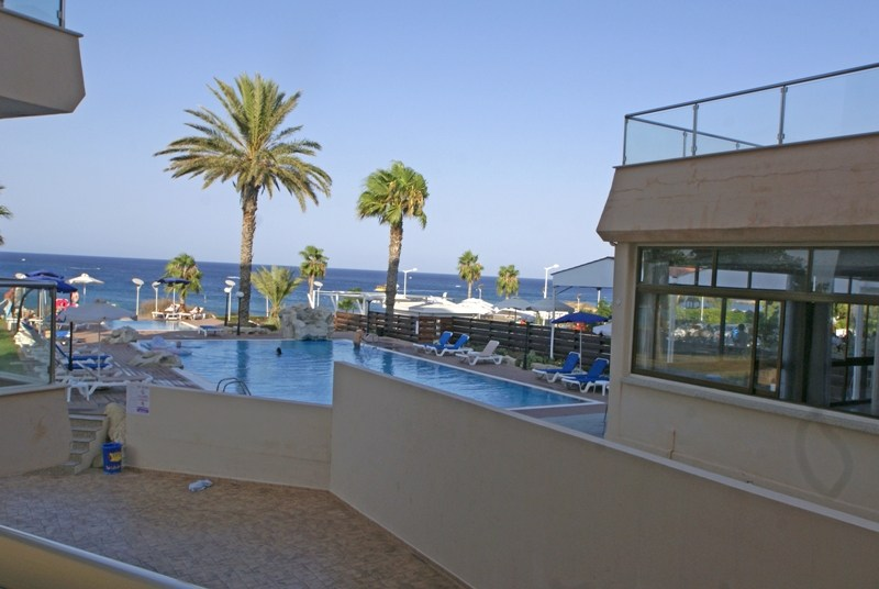 Apartment in Cyprus, Protaras: View from the pool