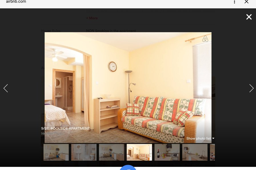 Owners abroad PINOSO. peaceful & tranquil valley (Apartment No 2) sleeps 2 to 3