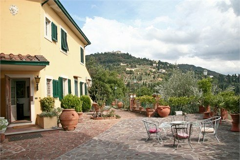 Villa in Italy, Campo Di Marte: External View