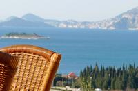 Apartment in Croatia, Cavtat: stunning sea view from the apartment