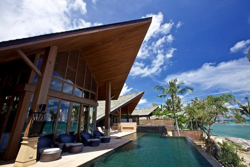 Villa to rent in koh samui thailand with private pool for Koi pool villa koh tao