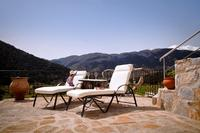 Villa in Greece, sfakia:   FANTASTIC VIEW FROM  THE POOL TO THE WHITE MOUNTAINS .