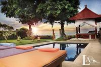Villa in Indonesia, Lovina: view from pool side