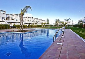 Apartment in Condado de Alhama, Spain: Pool area