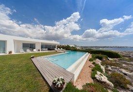 Luxury minimalist seafront villa in Cap D'en Font