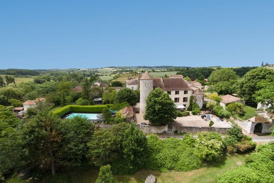Owners abroad Private castle in France with pool, sauna and private golf course